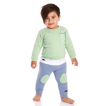 لباس کودک جیبدار سبز برند Tiktak