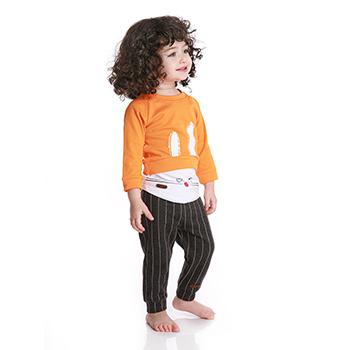 لباس کودک خرگوش نارنجی برند Tiktak