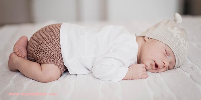 لباس نوزاد مناسب برای خواب – نکات طلایی ویژه والدین
