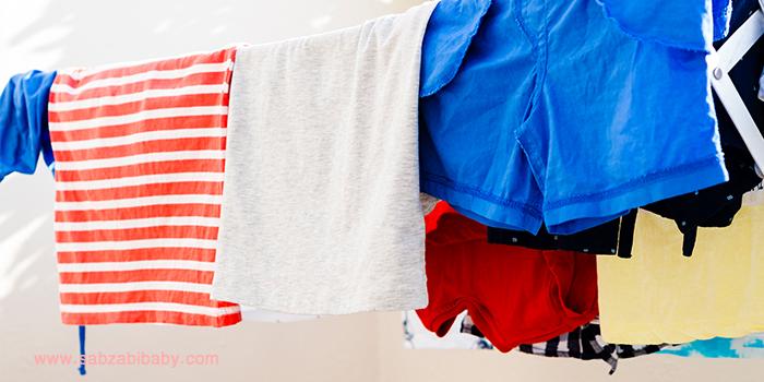 باید ها و نبایدهای مربوط به شستشوی لباس کودک