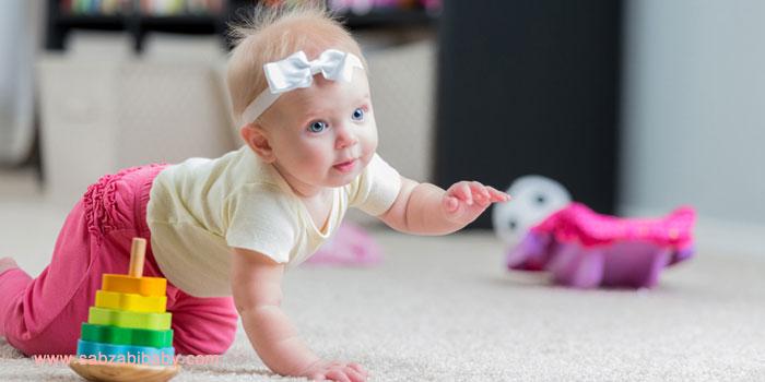 انواع بازی و اسباب بازی های کودکان زیر یکسال