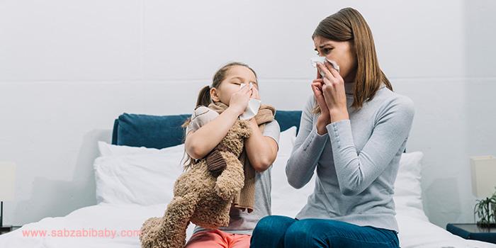 آلرژی در کودک