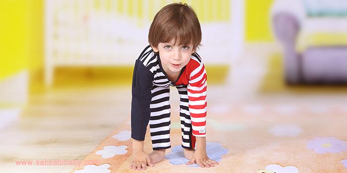 انتخاب رنگ لباس نوزاد در زمستان