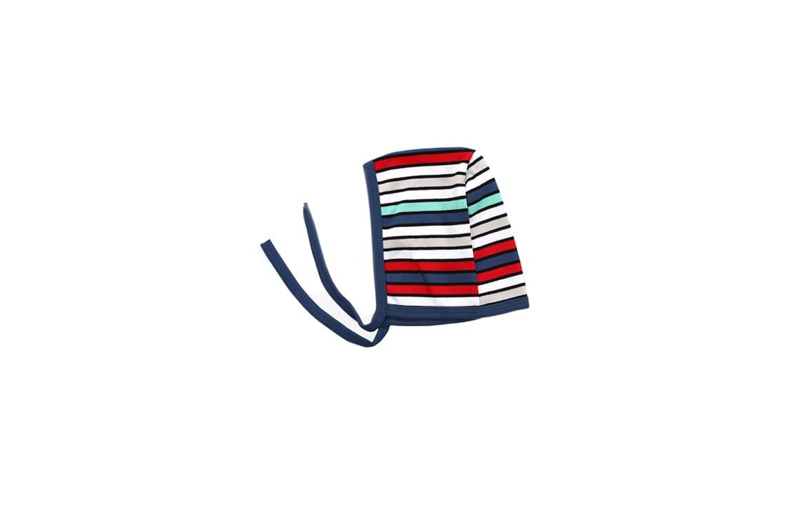 کلاه بندی پسرانه راه راه 6 رنگ تیک تاک