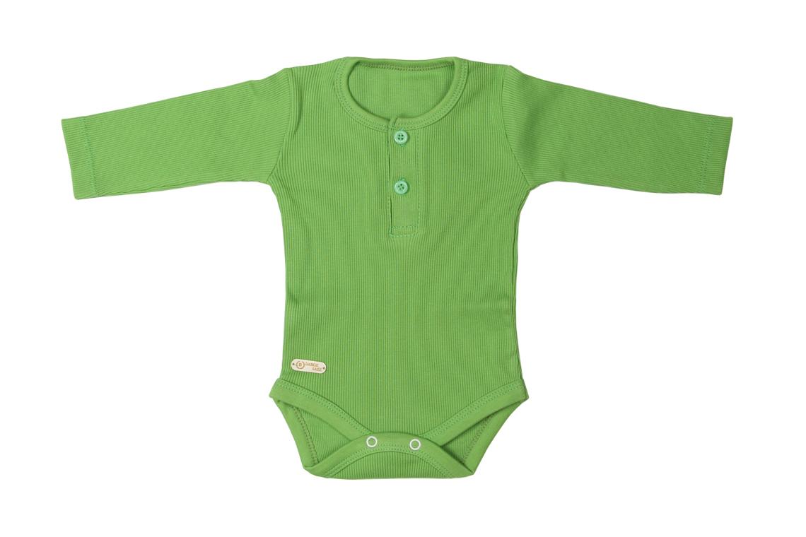 زیر دکمه دار بلند سبز دخترانه پسرانه رنگی برگ سبز