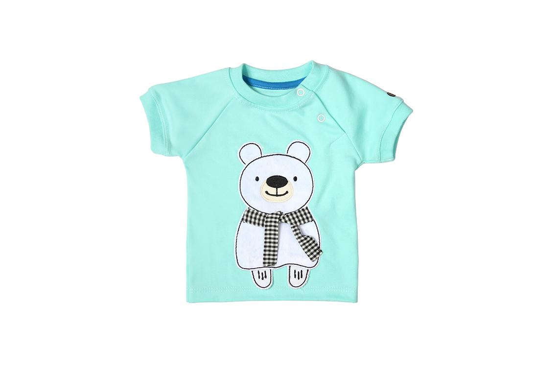آستین کوتاه خرس و شال